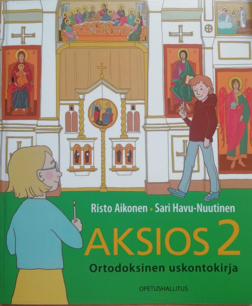 Aksios 2 -kirjan kansi